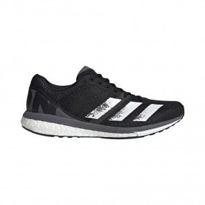 ADIDAS ADIZERO BOSTON 8 Homme | Core Black / Cloud White / Grey